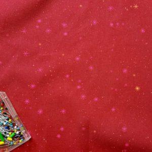 tissu bio bordeaux Mars-Elle