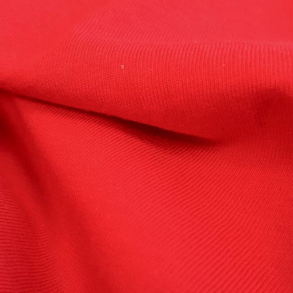 jersey coton bio rouge
