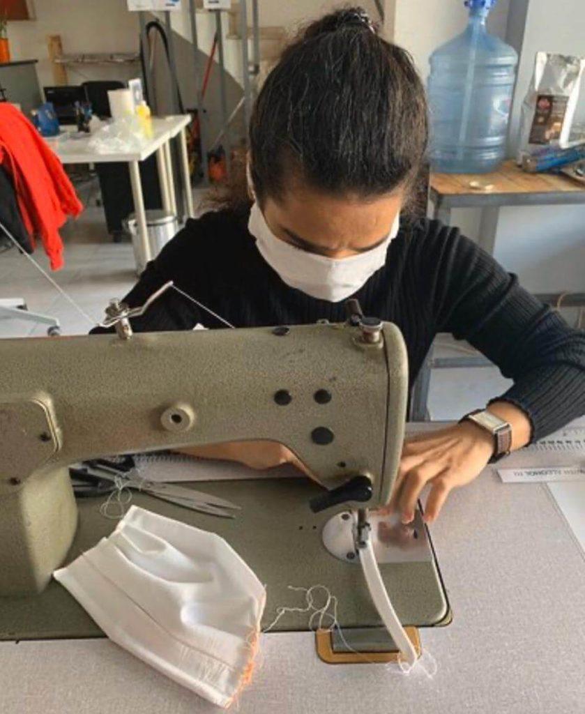 couture à la chaine atelier pro masque
